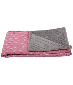 Handmade baby blanket | Pinkish delight| Made by #Birds&Bots | www.metdehand.nl