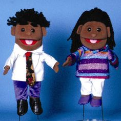 "Sunny & Co Toys GL1536 14"" Ethnic boy in purple"