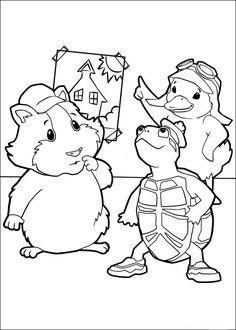 Wonder Pets Coloring Pages 35