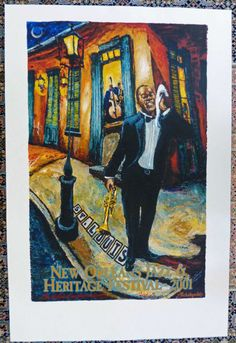 NEW ORLEANS JAZZ FEST BY JAMES MICHALOPOULOS