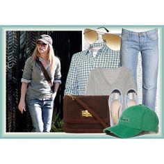 Celebrity Style: Reese Witherspoon, created by lilmissnumbers on Polyvore