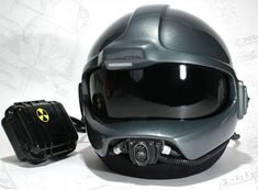 You can actually buy the flight helmet.