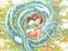 Spirited Away Written and directed by Hayao Miyazaki, Produced by Studio Ghibli Hayao Miyazaki, Totoro, Manga Anime, Anime Art, Anime Love, Spirited Away Anime, Chihiro Cosplay, Art Studio Ghibli, Chihiro Y Haku
