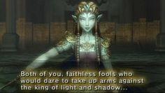 Possessed Zelda in Twilight Princess