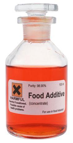 food additive Listado de Conservantes, Colorantes, Aditivos y Edulcorantes