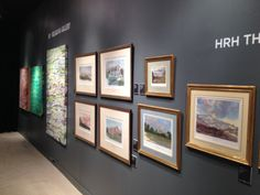 ...and here is HRH Prince of Wales exhibited on the stand  http://www.belgraviagallery.com/artist/hrh-the-prince-of-wales/