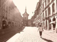 Berna Suiza en Sepia