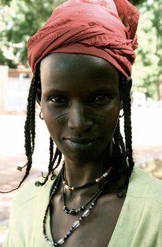 Africa   Peul (Fulani) woman.  Burkina Faso   ©Doreen De Greef