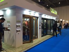See our busy exhibition stand at the Homebuilding & Renovating Show ExCeL, London. Exhibitions, Building A House, London, Build House, London England