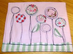 but having seen her fabulous ideas I wanted to have a go at this free motion embroidery but there was a few problems...   a) I didn't know w...