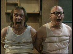 Bottom, sitcom, television series, 1991 - 1995, Ade Edmondson, Rik Mayall, Eddie and Richie, comedy