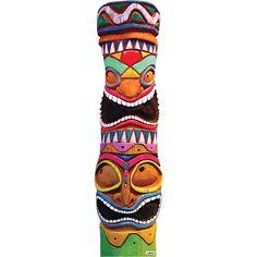 Tiki Totem Standee Image #1