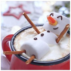 *Image Only: Snowman Cocoa