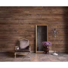 Transform walls with Peel and Stick Sable Wood Wall Planks. Made in America, RoomMates Wall Planks are unlike any other wood plank. Wood Wall Tiles, Wood Panel Walls, Wooden Walls, Wood Wall Paneling, Planked Walls, Wooden Flooring, Stick On Wood Wall, Peel And Stick Wood, Small Bedrooms