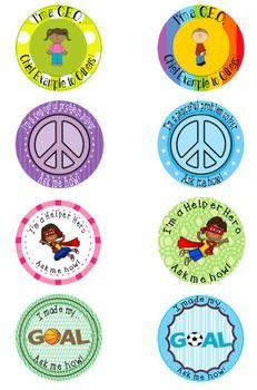 We all know students love to be recognized! Brag Buttons motivate students to work toward goals. These *special* Brag Buttons from the School Counselor are all the rage as students take pride in wearing these buttons or putting them on their book bags.