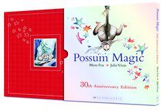 Scholastic Australia | April 2013 | Possum Magic 30th Anniversary hardback with slipcase edition by Mem Fox