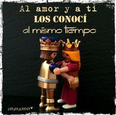 y conocí el amor... #amor #playmobil #reyes