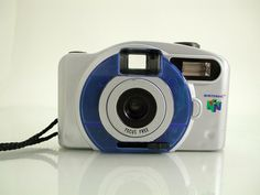 Nintendo 64 Camera Small Logo Point and Shoot 35mm Film Camera - SOLD - Other items up for sale here! http://www.ebay.com/sch/pealfaro/m.html?_nkw=&_armrs=1&_from=&_ipg=&_trksid=p3686