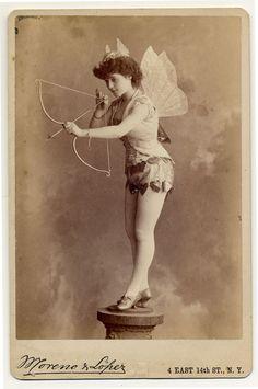 Victorian cupid postcard ~ Exotic Dancers, 1890s | Retronaut