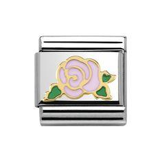 Nomination Composable Classic Madame et Monsieur Versailles rosa Rose 030285/31