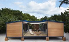 Charlotte Perriand's lost holiday house built by Louis Vuitton for the first time