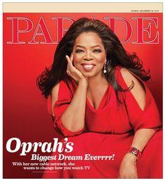 Oprah opens up to Parade