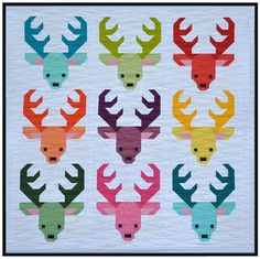 Santa's Reindeer - Have A Jolly Little Christmas quilt