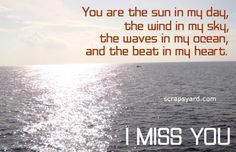 thought of you today poem | Missing You Scraps, Pictures, Images, Graphics for Orkut, Myspace ...
