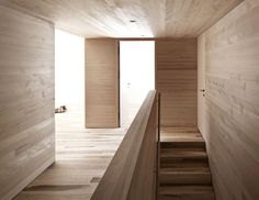Bernardo Bader Architects sourced pine and spruce from the surrounding slopes to build this picturesque chalet in a village of western Austria. Chalet Interior, Arch Interior, Interior And Exterior, Interior Design, Swiss Architecture, Space Architecture, Wooden Architecture, Global Home, Timber House