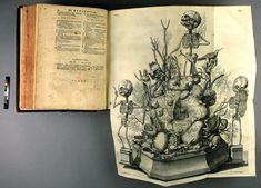 Frederik Ruysch Vintage World Maps, Illustration, 18th Century, Illustrations