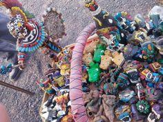 Artesanías en Teotihuacán