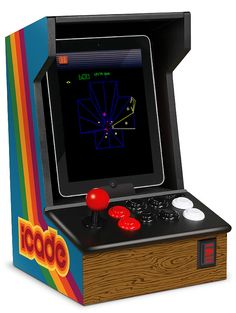 iCADE - iPad Arcade Cabinet - turns your iPad into a vintage arcade video game center! No quarters required! $69.99