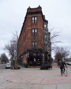 Flat Iron Building in the Rochester, NY Neighborhood of the Arts (NOTA)