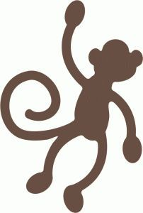 silhouette on Pinterest | Monkey, Silhouette Online Store and ...
