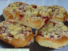 Kulinarne Szaleństwa Maniusi: Drożdżówki ze śliwką