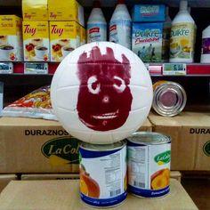 Habría un #náufrago dentro del #supermercado!!! #tengosueño #pastafroladebatata #noarrancaphotoshop