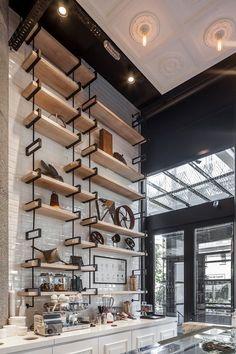 Lucciano´s Icecream & coffee shop, Olivos on Behance