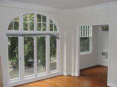 Eisenfenster Stallfenster Kirchenfenster Rundbogen Fenster für Gartenmauer