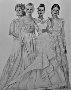 Brides 14x18 graphite. Graphite, My Drawings, Brides, Game Of Thrones Characters, Fictional Characters, Art, Graffiti, Art Background, Kunst
