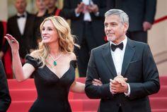 Première montée des marches pour Julia Roberts avec George Clooney #cannes #festivaldecannes #cannes2016 #star #people #fashion #redcarpet #juliaroberts #georgeclooney