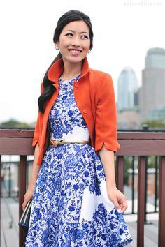 H m blue dress vs gold - Fashion dress weekly Petite Dresses, Blue Dresses, Indian Wedding Wear, Extra Petite, Vintage Style Dresses, Fashion Sewing, Petite Fashion, Simple Dresses, Bright Jacket