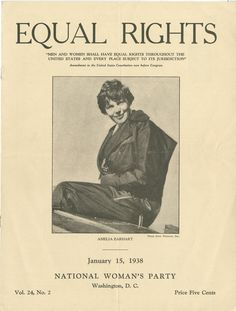 "Publication – ""Equal Rights,"" January 15, 1938."