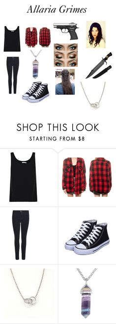 """Allaria Grimes"" by kayla-iz-here on Polyvore featuring Vince, J Brand and Cartier"