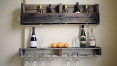 Un projet-brico étape par étape pour vous créer un mini-bar en bois de palettes!