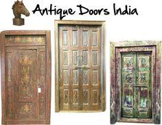 Mogul Interior Designs: Antique Doors India #Architectural #Doors #windows...