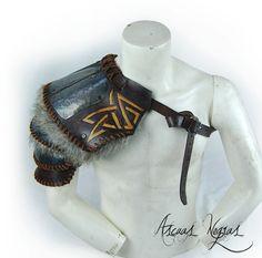 AscuasNegras Shoulder armor