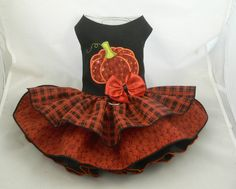 Hey, I found this really awesome Etsy listing at https://www.etsy.com/listing/401145101/dog-dress-halloween-thanksgiving-pumpkin