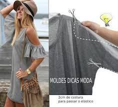 Resultado de imagen para como hacer blusas modernas recicladas