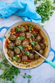 Meatball Tagine with