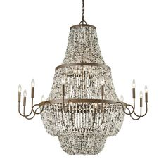 Agate Stones 21 Light Chandelier In Weathered Bronze With Gray Agate Stones 65309/12+6+3